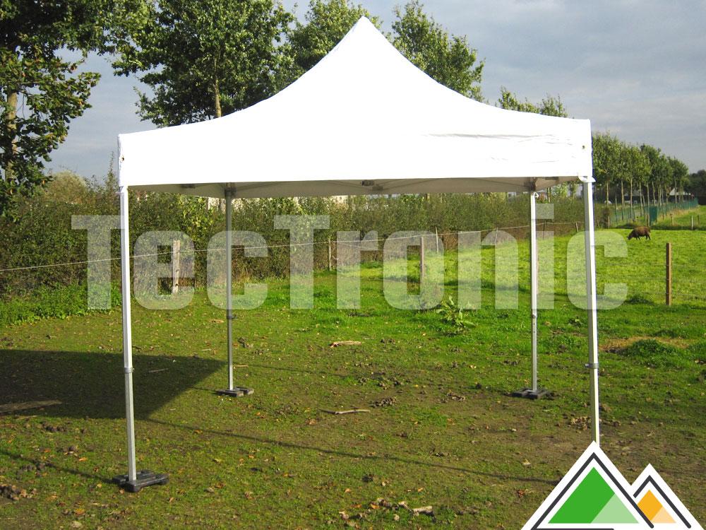Chapiteau pliant 3x6 Solid 50 pvc 550 gr/m² - tente pliable ...